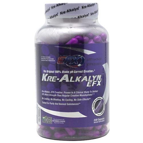 Tous EFX américaine - Kre-Alkalyn EFX, 240 capsules