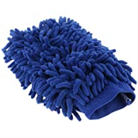 Random 【Majoxin】 Single-Sided Wool Cashmere Car Wash Glove Cleaning Mitt Washing Brush Cloth Car Cleaning Tools