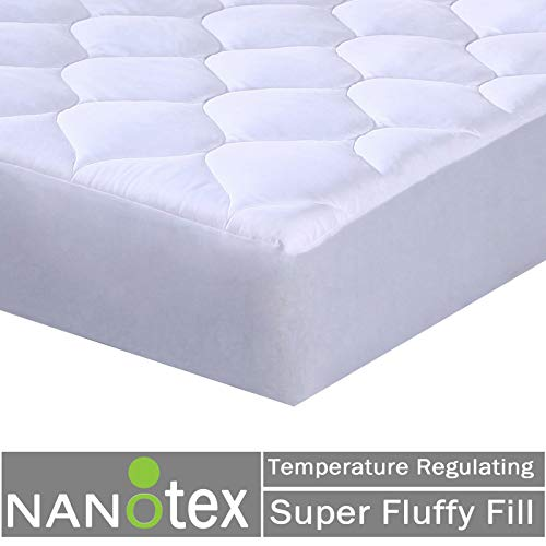 Quilted Fitted Mattress Pad extra deep