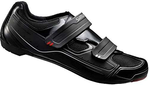 Shimano SH-R065 Cycling Shoe - Men's Black, 42.0