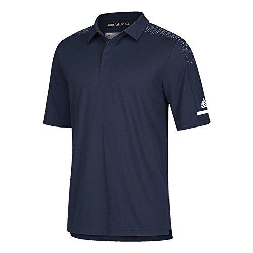- adidas Team Iconic Coaches Polo - Men's Multi-Sport XL Collegiate Navy/White