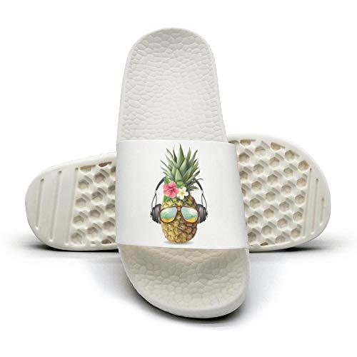 Pineapple Gold Flower Casual Decorations Women's Beach Sandals Symbolism Fashion Pineapple Slippers pzqFxqIB