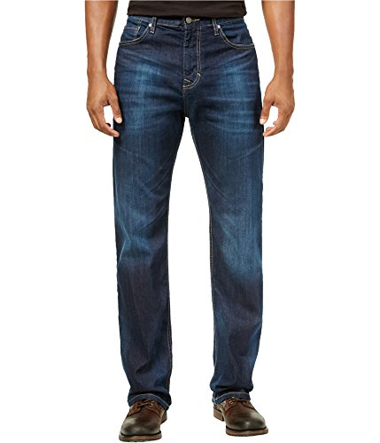 Calvin Klein Men's Relaxed Fit Denim Jean, Deep Water, 30x30 by Calvin Klein