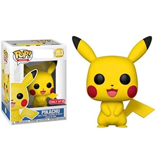 Funko. Pop Anime Cartoon Cute Pikachu Vinyl Action Figures