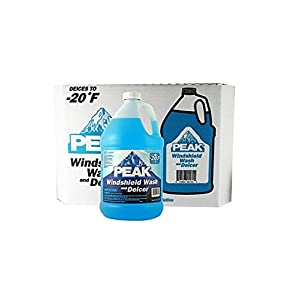Peak Windshield Wash and Deicer - 1 gal. bottles - 6 pk.