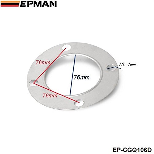 EPMAN - T4 Turbo Discharge Gasket Fit 3' Down-Pipe To Turbo Exhaust Manifold EP-CGQ106D Bo Luo