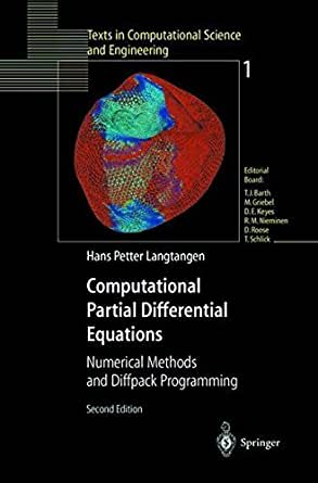 Numerical Methods for Partial Differential Equations - 3rd ...