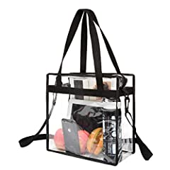 Meets NFL and PGA Tournament guidelines               With safety on everyone's minds, these days you can't bring opaque bags to concerts and sporting events because security can't see what you're bringing into the venue.And ...