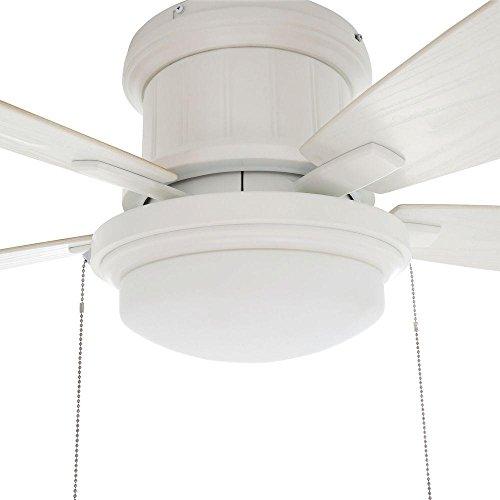 Hampton Bay Roanoke 48 In Indoor Outdoor White Ceiling