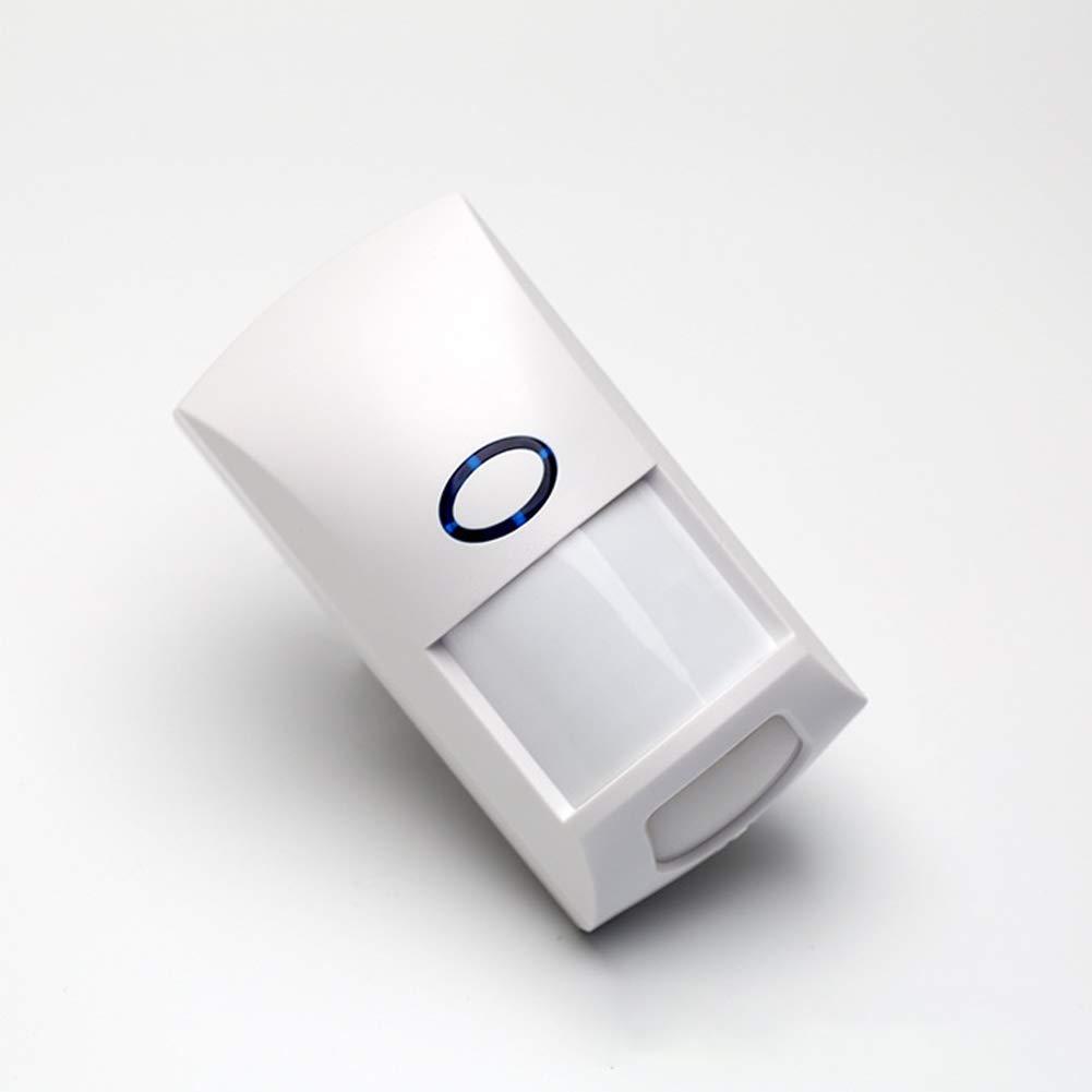 Aoile 433.92MHz Wireless Alarm Sensor PIR Motion Sensor Alarm Detector Code Matching LED Indicator Anti-pet Type Wireless Alarm System