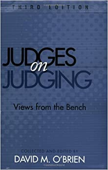 Book Judges On Judging: Views From the Bench, 3rd Edition