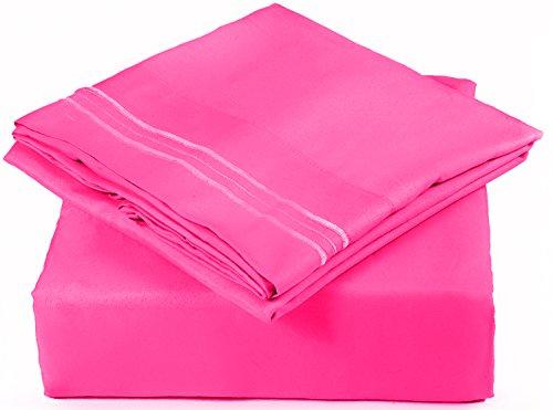 Full Size Sheet Set 6 Piece Set Hotel Luxury Bed