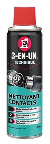 3-in-UN Technique contactreiniger, aerosol-spray, sneldrogend, zonder uitspoelen en zonder resten, geschikt voor alle…