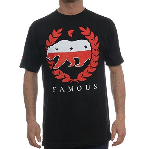 Famous Stars & Straps Herren Blusen T-Shirt Schwarz Schwarz