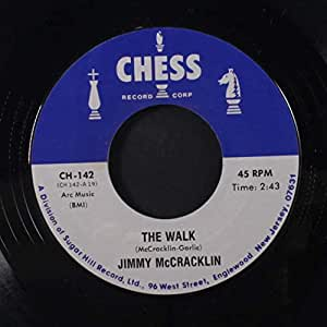 WILLIE MABON / JIMMY MCCRACKLIN - poison ivy / the walk 45