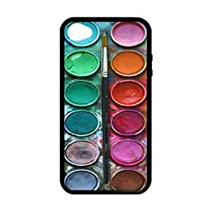 Custom Unique Design Paintbox iPhone 6 plus Silicone Case