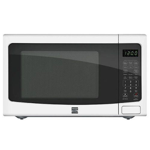 Kenmore 1 2 Cu Ft Countertop Microwave W Ez Clean Interior White 72122