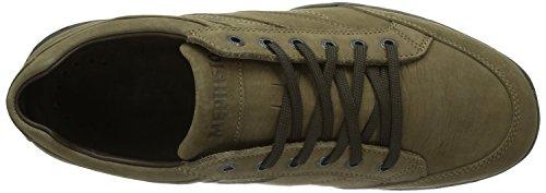 Mephisto VADIM SAFARI 6765 DARK TAUPE - zapatilla deportiva de cuero hombre marrón - Braun (DARK TAUPE)