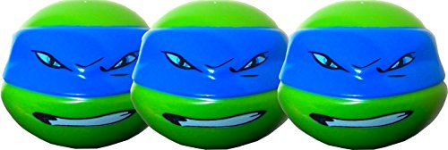 Teenage Mutant Ninja Turtles Easter Egg Hunts and Games Treat Containers Pack of 3 -