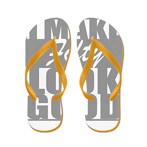 CafePress I Make 50 Look Good - Flip Flops, Funny Thong Sandals, Beach Sandals Orange