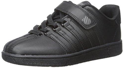 K-Swiss Kid's Classic VN VLC Shoe, Black/Black, 12 M US Litt