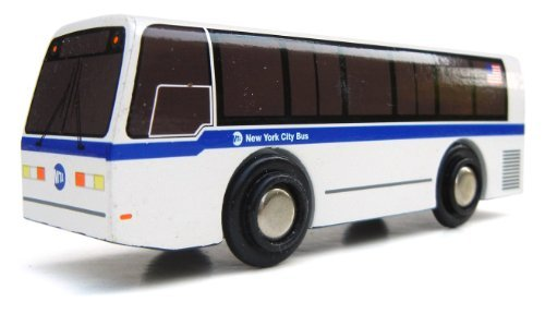 (Munipals MP01-2102 Wooden Nova RTS-06 New York City NYC Bus)