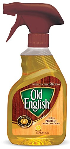 Old English, Lemon Oil, Trigger Sprayer, 12 Ounce (Old Wood Furniture)