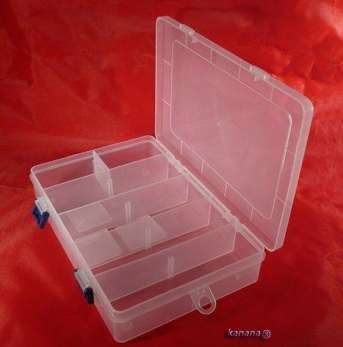 Plastikbox Angelbox Köderbox zubehörbox Angel Box TACKLEBOX SN-(MP2038B)