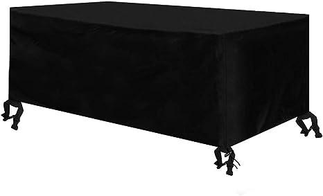 Heavy extérieur Ratten Meubles couverture Patio Table Set protection soleil jardin