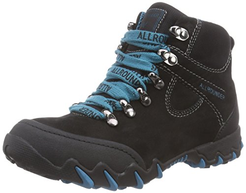 nubuk Mephisto Rubber Allrounder Marche Chaussures femme Nelja Black Black 1 1 g Black black Schwarz by nordique de WtY55wqg