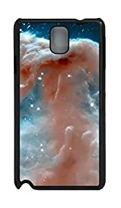 Fashion Style With Digital Art - Horse Head Nebula Skid PC Back Cover Case for Samsung Galaxy Note 3 N9000