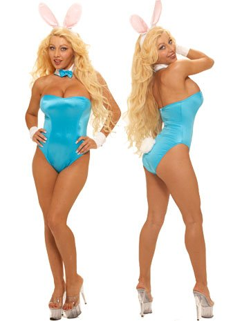 Hef And Bunny Costumes (Sexy Hefs Play Bunny Costume - LARGE)