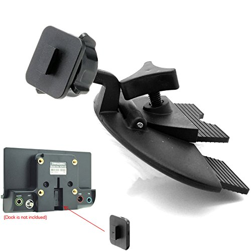 ChargerCity EasyBlade Sirius XM Car DVD Player CD Slot Mount for SiriusXM Audiovox Starmate Xpress EZ R RC Roady Samsung Nexus & Helix Satellite Radio (FOR SINGLE T TAB CONNECTION DOCK ONLY) (Nexus Radio)