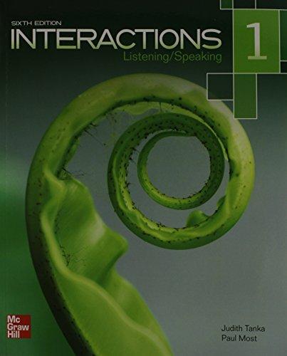 Interactions 1:Listen./Speak. W/Access
