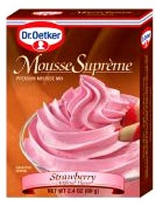 Dr. Oetker Strawberry Mousse 2.33 Oz by Dr. Oetker