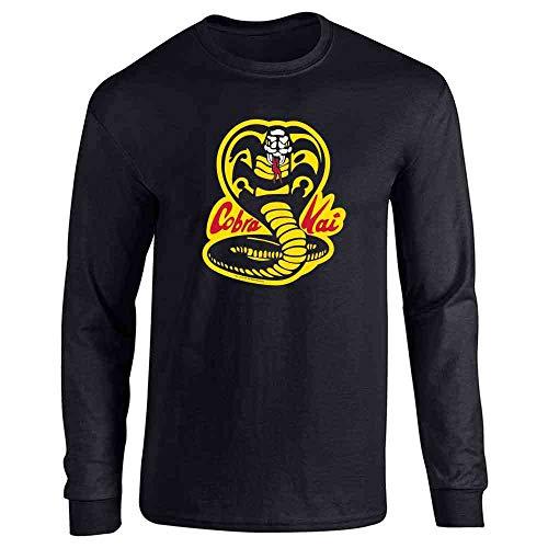 1120d2fba Cobra Kai Karate Kid Dojo Retro Martial Arts Long Sleeve T-Shirt ...