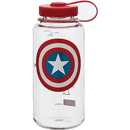 (Nalgene Marvel 32oz Wide Mouth BPA-Free Water Bottle)