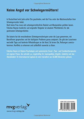 Hassgeliebte Schwiegermutter Amazonde Felicitas Heyne Bücher