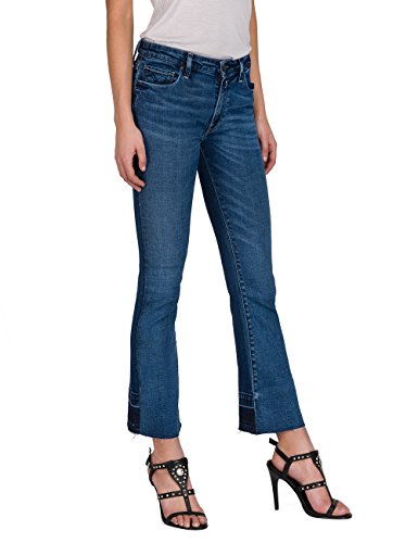 Blue Donna Jeans Bootcut Blu Denim REPLAY 9 Dominiqli qXZwtt