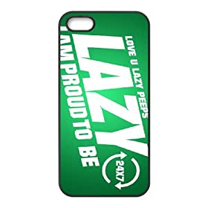 proud to be lazy iPhone 5 5s Cell Phone Case Blackpxf005-3773626