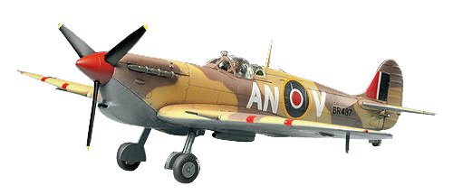 Tamiya 61035 1/48 Scale Spitfire MK.VB Tropical Plastic Model Kit