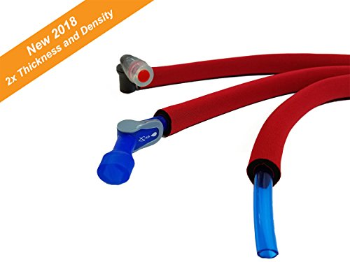 Red Hydration Pack Insulated Drink Tube Cover