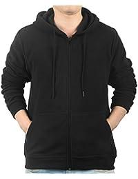 iLoveSIA Men's Full Front Zip Fleece Casual Lightweight Jacket 5451