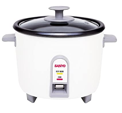 amazon com sanyo ec 503 3 cup uncooked rice cooker and vegetable rh amazon com Rival Rice Cooker Instruction Manual Rival Rice Cooker Instruction Manual
