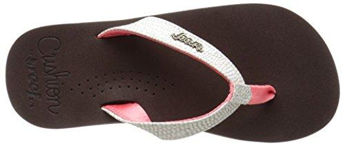 Reef Little Cushion Sassy - Zapatos de primeros pasos Bebé-Niños Varios colores (Brown / Pink)
