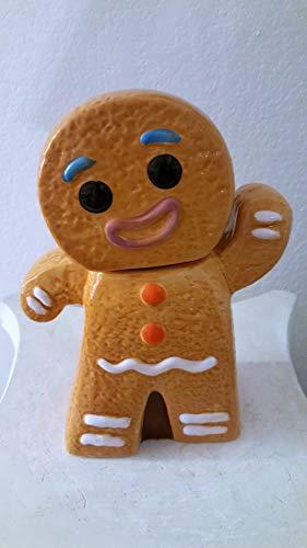 Gingerbread Man Ceramic Jar