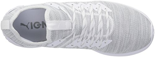 Puma Mens Ignite Flash Evoknit Sneaker Puma Bianco