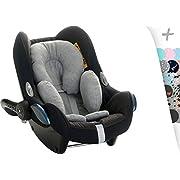 Reducer Cushion Infant Head & Baby Body Support Antiallergic Janabebe (Stone Grey)
