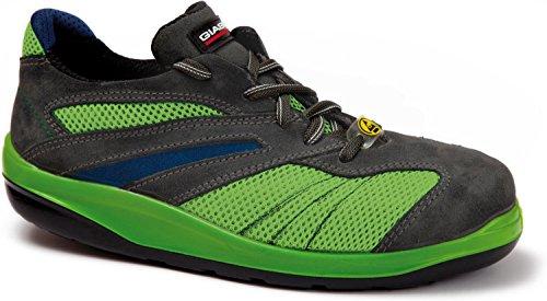 Giasco VERVE - Calzado de protección para hombre, color verde, talla 43