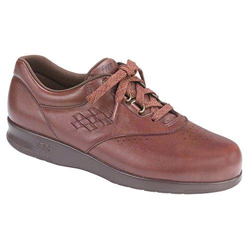 Damen SAS, Freizeit Schnür Sneaker Teak